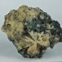 Zincrosasite On Cerussite