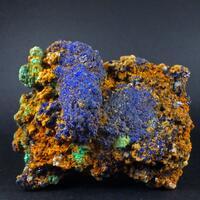 Azurite Malachite & Cerussite