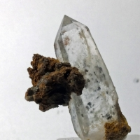Quartz With Cassiterite Inclusions & Siderite