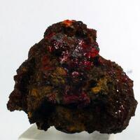 Chalcotrichite & Pyrobitumen