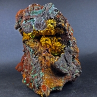 Chalcotrichite Malachite & Jarosite