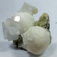 Gyrolite Apophyllite & Quartz