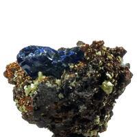 Iodargyrite & Azurite