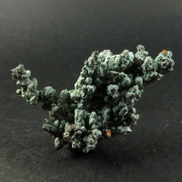 Langite On Native Copper