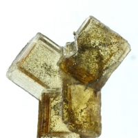 Baryte With Native Copper Inclusions