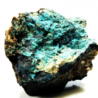 Posnjakite On Covellite