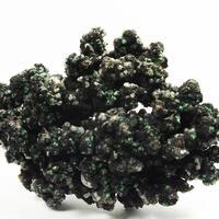 Tenorite & Calcite On Native Copper