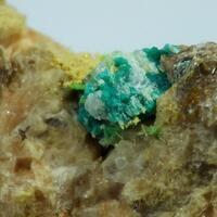 Ulrichite On Turquoise