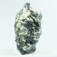 Acanthite On Native Silver