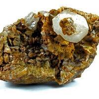 Calcite On Ankerite