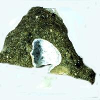 Pyrite On Chabazite
