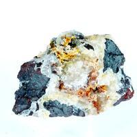Gorceixite On Hematite & Quartz