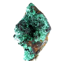Murdochite On Malachite