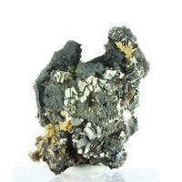 Pyrite On Bismuthinite
