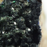 Azurite & Brochantite