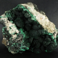 Malachite On Tenorite