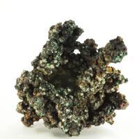 Native Copper Calcite & Cuprite