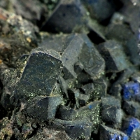 Azurite & Native Copper