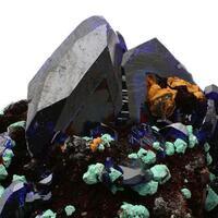 Cuprite Azurite & Malachite