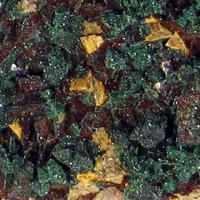 Malachite On Limonite Psm Chalcopyrite