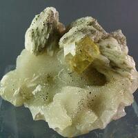 Fluorite Baryte Chalcopyrite & Quartz