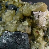 Fluorite Galena & Calcite