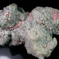 Rhodochrosite Quartz Fluorite & Pyrite