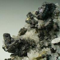 Bournonite Quartz & Pyrite