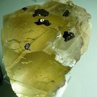 Chalcopyrite On Fluorite