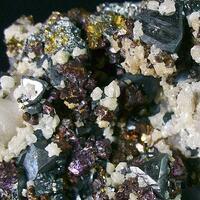 Tetrahedrite Chalcopyrite & Calcite
