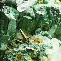 Bournonite Quartz Calcite & Arsenopyrite
