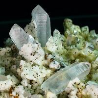 Quartz Dolomite Chalcopyrite
