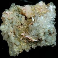 Rhodochrosite Gypsum & Calcite