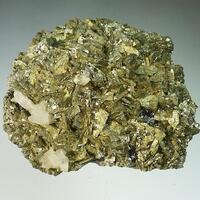 Chalcopyrite Calcite & Sphalerite