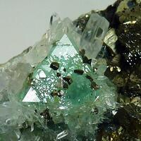 Fluorite Quartz Chalcopyrite & Sphalerite