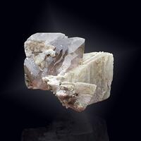 Adularia Smoky Quartz Hematite & Rutile