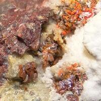 Iranite & Chromian Wulfenite