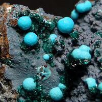 Chrysocolla & Brochantite