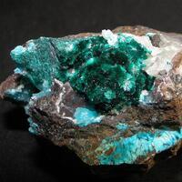 Brochantite & Chalcedony