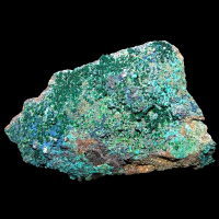 Libethenite & Pseudomalachite