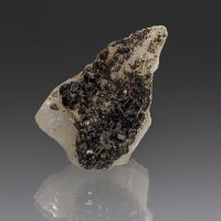 Cassiterite & Sericite On Quartz