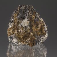 Inesite In Sphalerite & Calcite