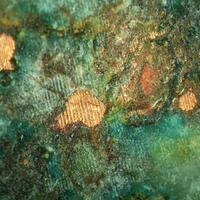 Native Copper With Cuprite In Prehnite