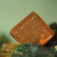 Wulfenite On Limonite