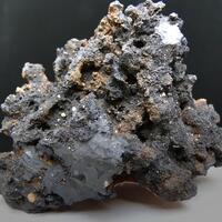 Cryptomelane With Lithiophorite