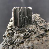 Columbite-(Fe) On Cassiterite
