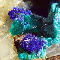 Clinotyrolite & Azurite