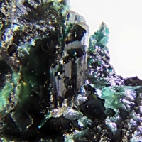 Lammerite Leightonite Anhydrite & Chalcanthite