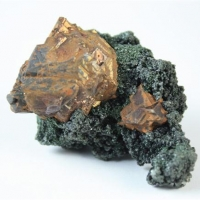 Pyrite & Chlorite
