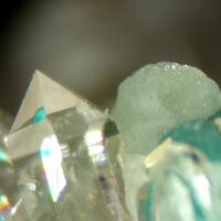 Smithsonite Malachite & Quartz